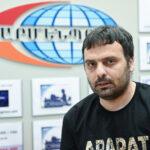 Арарат Петросян - Главный редактор газеты «Республика Армения»