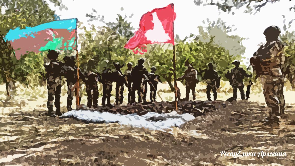 Азербайджан и Турция начали совместные военные учения в оккупированном Бердзоре. Иллюстрация: Республика Армения